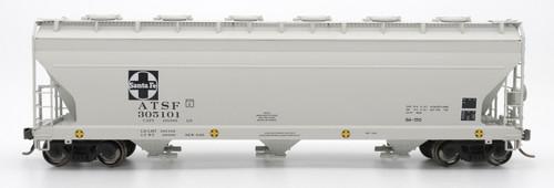 Intermountain 47086-05 ATSF Santa Fe 4650 cf 3-bay Hopper #305115 HO