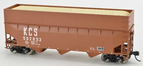 Bowser 42604 Kansas City Southern KCS 70T Rib Side Wood Chip #502800 HO scale