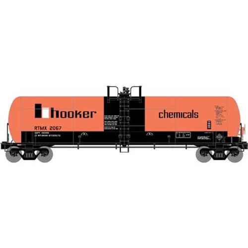 Athearn RTR 15916 Hooker Chemical 20,900 gal Acid Tank #2067 HO