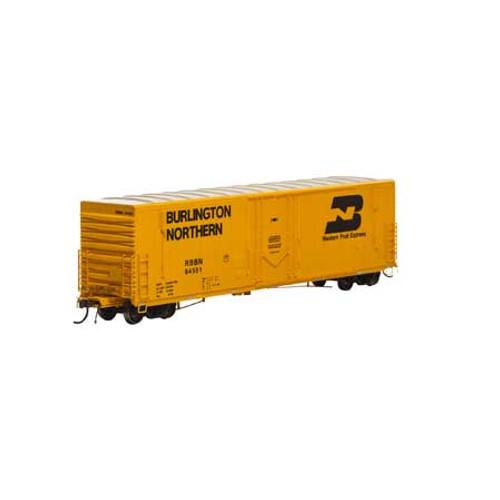 Athearn Genesis 26782 RBBN 50' PC&F Welded Box Car #64551 HO