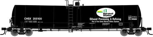 Atlas N 50001713 Harvest States CHSX Trinity 25,000 gal tank car #255001