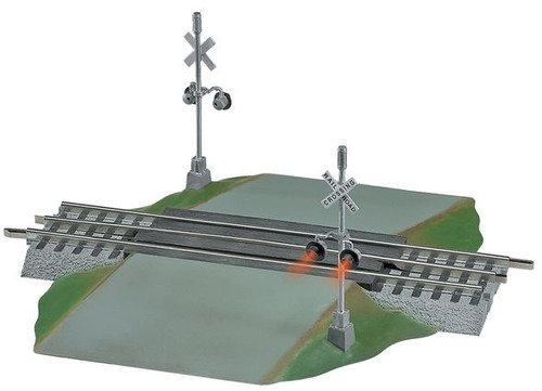 Lionel O 6-12052 Grade Crossing with Flashers