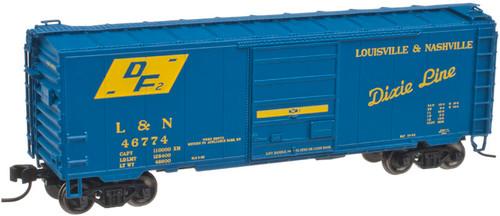 "Atlas N 50001766 Louisville & Nashville 40"" PS-1 Box Car #46774"