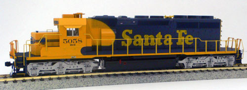 KATO HO 37-6611 ATSF Santa Fe SD40-2 #5058