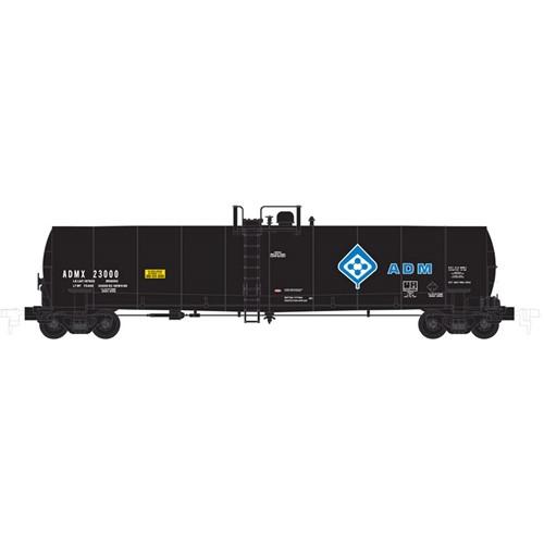 Atlas N 50002066 ADM ACF 23,500 tank car #23000