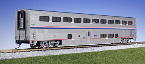 Kato HO 35-6083 Amtrak Superliner Sleeper Phase IV-b