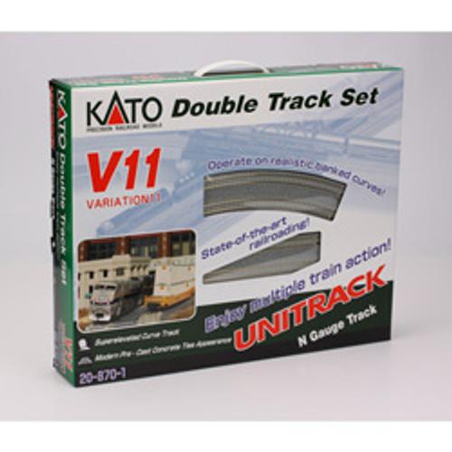 KATO N scale 20-870-1 V11 Double Track Set