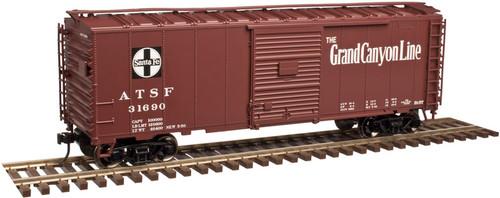 "Atlas O TM 2002224-1 Santa Fe ""Grand Canyon Line"" #31629 40' Sliding Door Boxcar 3-rail"