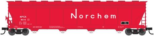 Atlas HO 20003552 Norchem ACF5701 Covered Hopper #6001