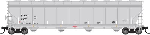 Atlas N 50002463 Chevron Phillips Chemical ACF 5701cf Covered Hopper #7059