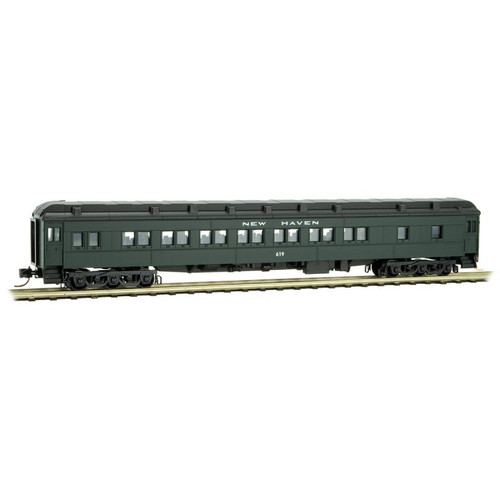 Micro-Trains 143 00 100 New Haven Heavyweight Parlor Car #619 N scale