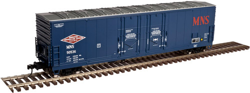 Atlas O 3002320-02 Minneapolis, Northfield & Southern #50536 53' Evans Double Plug-Door Box Car 2-rail