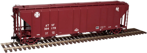 "Atlas O 3002360-02 ATSF ""Q"" #304517 PS 4427 Low Side Hopper 2-rail"