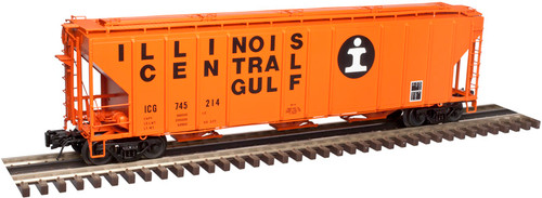 Atlas O 3002361-04 Illinois Central Gulf #745352 PS 4427 Low Side Hopper 2-rail