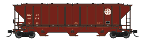 Trainworx 24439-03 BNSF Repaint PS2CD high side covered hopper N scale #417314