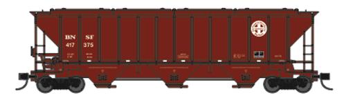 Trainworx 24439-04 BNSF Repaint PS2CD high side covered hopper N scale #417375