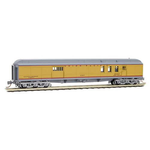 Micro-Trains 148 00 060 Union Pacific Heavyweight Mail/Baggage Car N scale