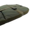 Abode Bedchair, Contoured Memory Foam Mattress Topper, Carp Fishing Camping Bed Cover & Pillow
