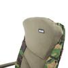 Abode Rip-Stop DPM CAMO Carp Fishing Camping Fleece Armchair Recliner Chair