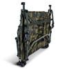 Abode DPM Camo Fleece Topped Carp Fishing Camping Bedchair