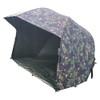 "Abode Night & Day 60"" DPM Oval Umbrella Carp Session Brolly & Overwrap 5000"