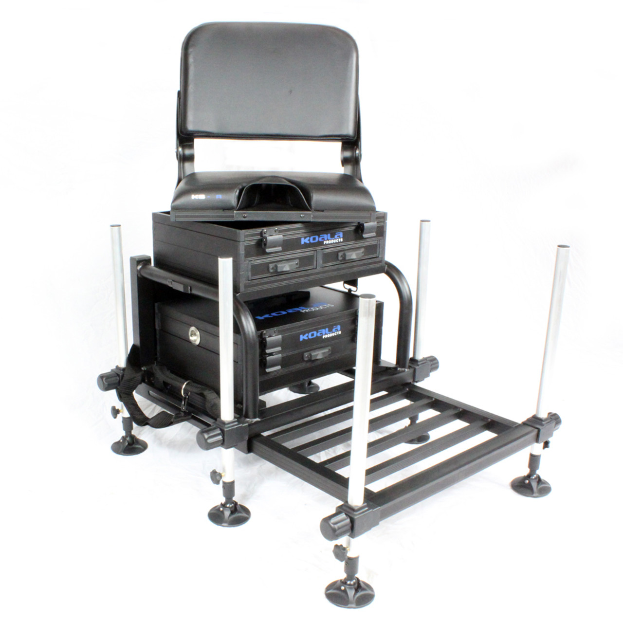 Koala Products Team Match Station Seat Box & Swivel Back