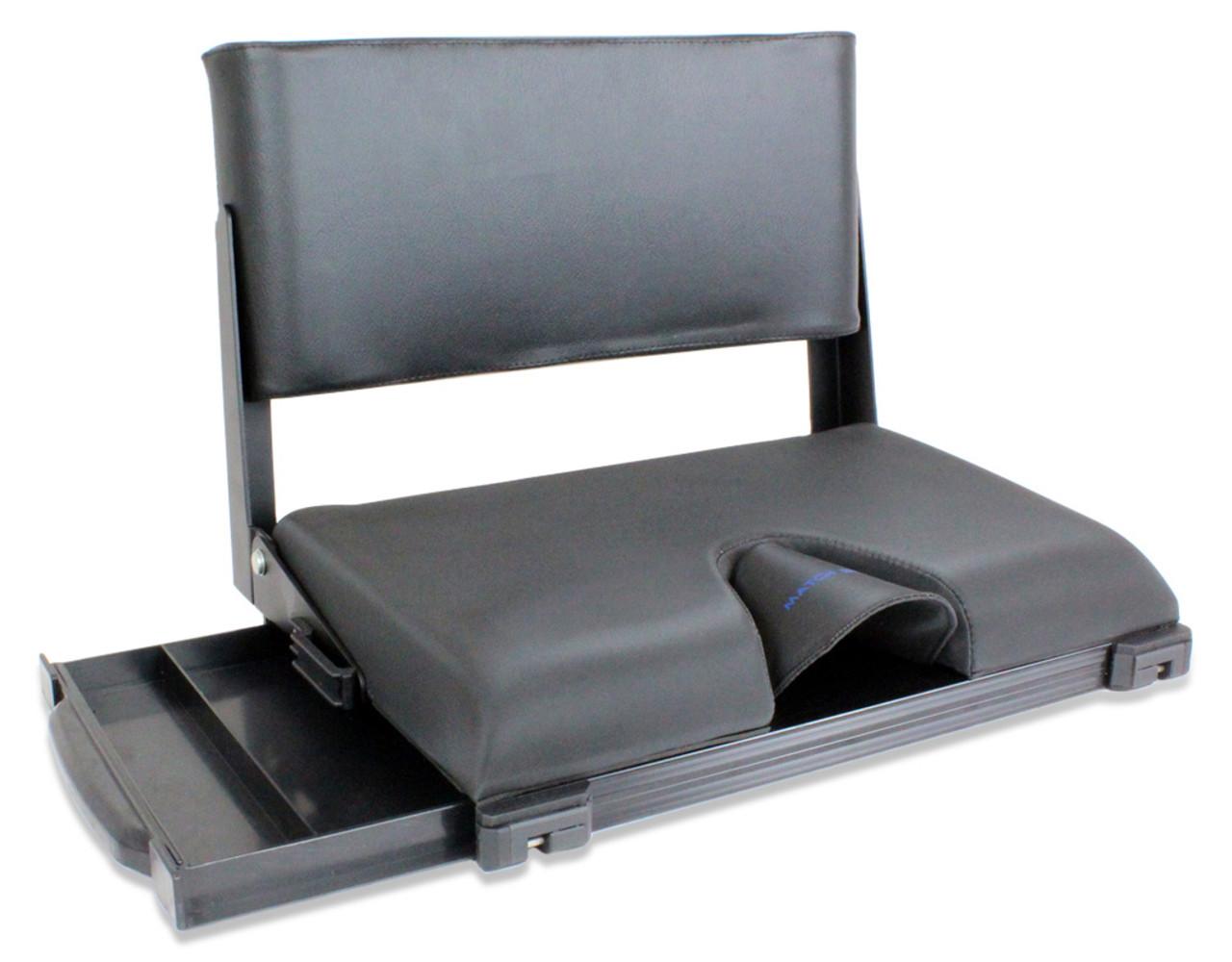 Match Station Mod-Box Folding Fishing Seat Box Back Rest