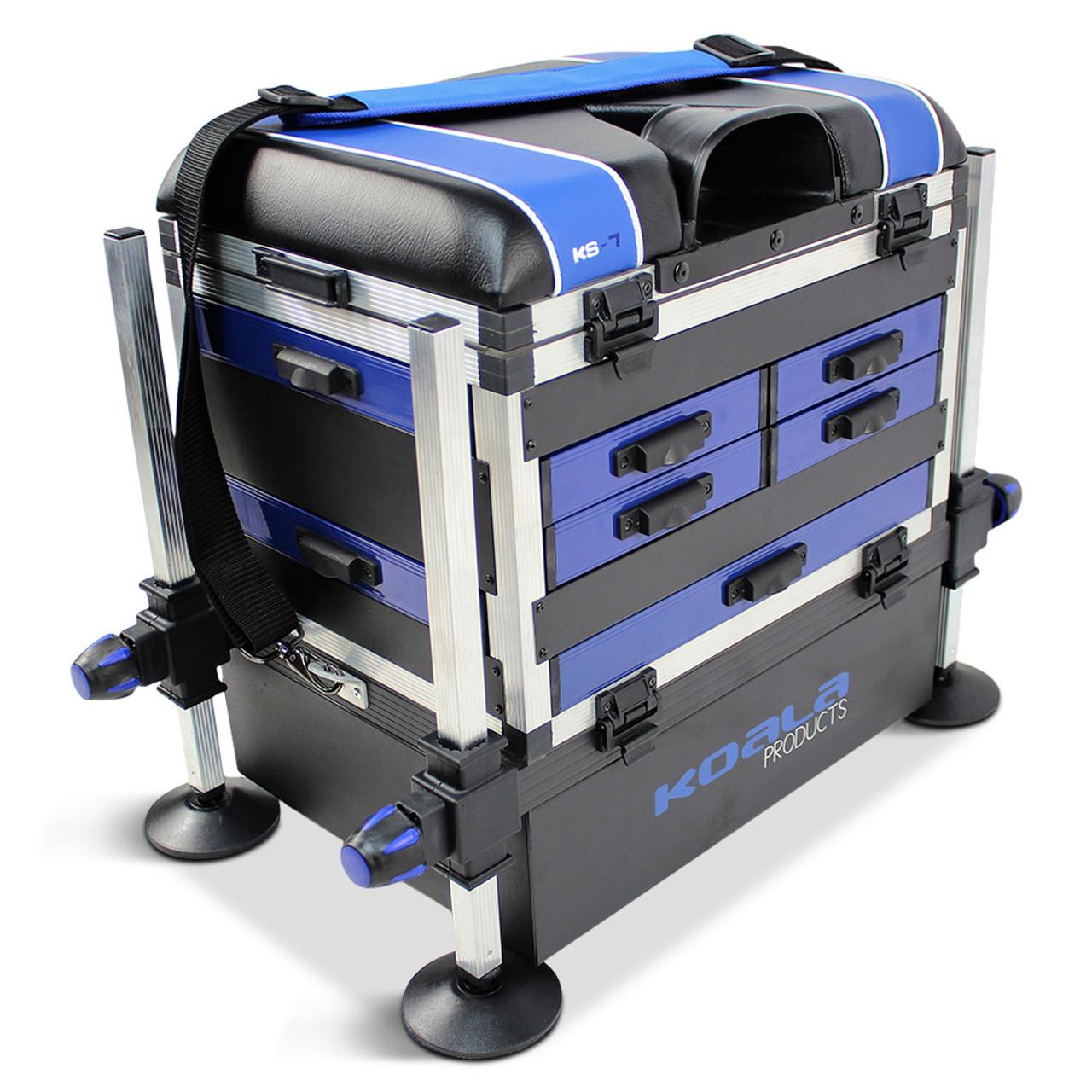 WORLD CLASS SEAT TACKLE SYSTEM CARP POLE FISHING SEAT BOX CHAIR STATION