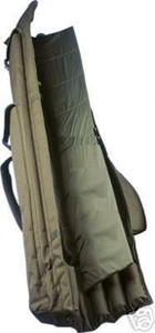 Abode, DLX, Oxford, Padded, 12ft 3, Rod, Carp, Fishing, Holdall