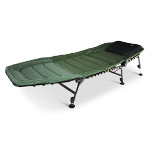 Abode DLX Oxford 6 Leg Super Carp Fishing Bed Chair Camping Bedchair