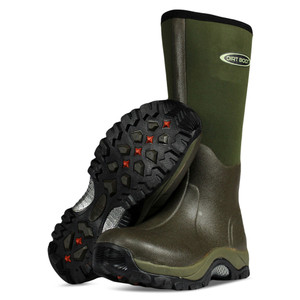 Dirt, Boot, Neoprene, Wellington, Muck, Boot, Pro, Sport, Green, welly, wellies