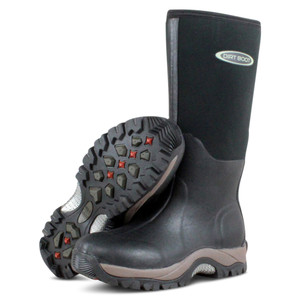 Dirt, Boot, Neoprene, Wellington, Muck, Boot, Pro, Sport, Black