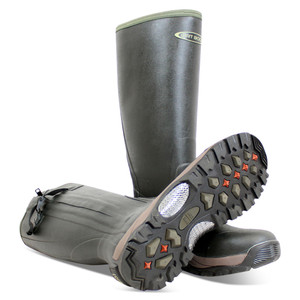 DIRT BOOT, Neoprene, Rubber, Wellington, Muck, Boot, Pro, Sport, Hunt, Zip, Green