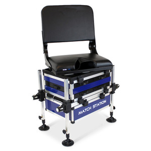 Match, Station, AS5 Drawer, Pro, Sport, Alloy, Seat, Box, &, Swivel, Back, Rest , seatbox