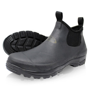 Dirt Boot Neoprene Waterproof Equestrian Slip On Stable Muck Yard Boots Black