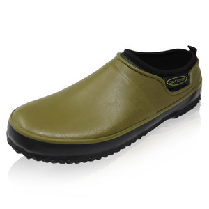 DIRT BOOT, neoprene, carp, fishing, waterproof, bivvy, garden, gardening, slippers, outdoor, shoes, green, shoe