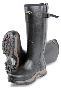 DIRT BOOT, Neoprene, Rubber, Wellington, Muck, Boot, Pro-Sport, Hunt, Zip, Black