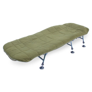ABODE, Hollow, Fill, Quilted, Fleece, Bedchair, Mattress, Topper, Carp, Fishing, Bed, Cover