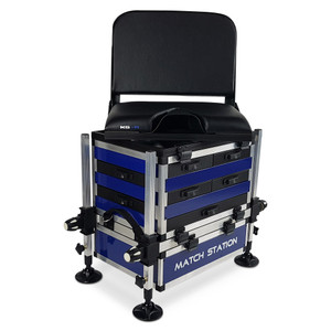 Match, Station, AS7, Drawer, Alloy, Pro, Sport, Seat, Box, seatbox, fishing, tackle, swivel, back, rest