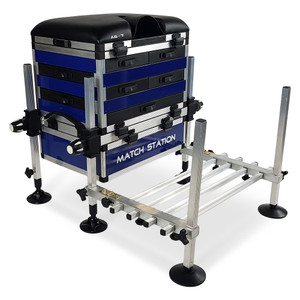 Match, Station, AS7, Drawer, Alloy, Pro, Sport, Seat, Box, seatbox, fishing, tackle, footplate