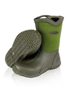 Dirt Boot Boys Girls Neoprene Wellington Muck Field Wellies Kids Bootie Boots