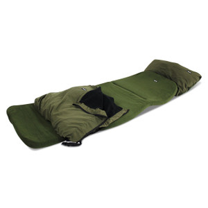 Abode Carp Fishing Camping Bedchair Mattress, Cover & Pillow