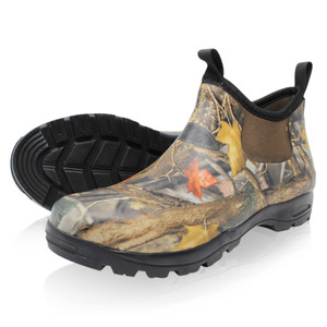Dirt Boot Neoprene Waterproof Equestrian Slip On Stable Muck Yard Boots Camo