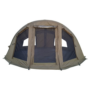 Abode Air Inflatable 2 Man Camper Bivvy Dome Carp Fishing Shelter Twin Skin