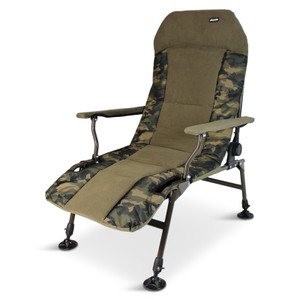 Abode, Urban, Camo, Carp, Fishing, Camping, Lazy, Armchair, Recliner, Chair