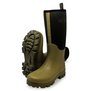 Dirt, Boot, Neoprene, lined, Gamekeeper, Wellington, Muck, Field, Rain, Boots, Khaki
