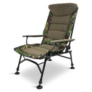Abode, Rip-Stop, DPM, CAMO, Carp, Fishing, Camping, Fleece, Armchair, Recliner, Chair