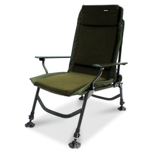 ABODE, AIRLITE, Alloy, Fleece, Easy, Arm, Carp, Fishing, Camping, Recliner, Chair