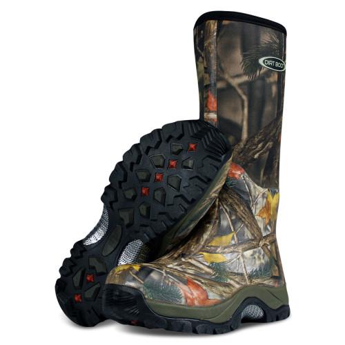 Dirt, Boot, Neoprene, Wellington, Muck, Boot, Pro, Sport, Camo, Fishing, Welly, Wellies
