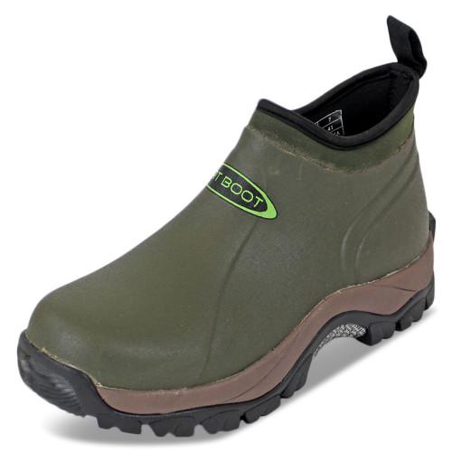 Dirt, Boot, Neoprene, Wellington, Pro, Sport, Ankle, Muck, Boot, Shoe, Green, fishing, welly